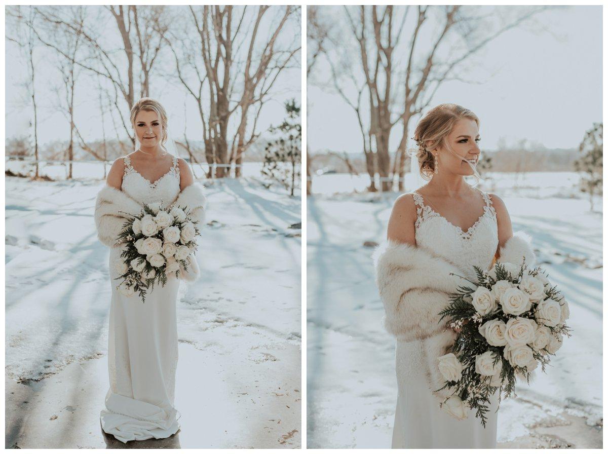 snowy winter wedding omaha nebraska photographer weddingphotos