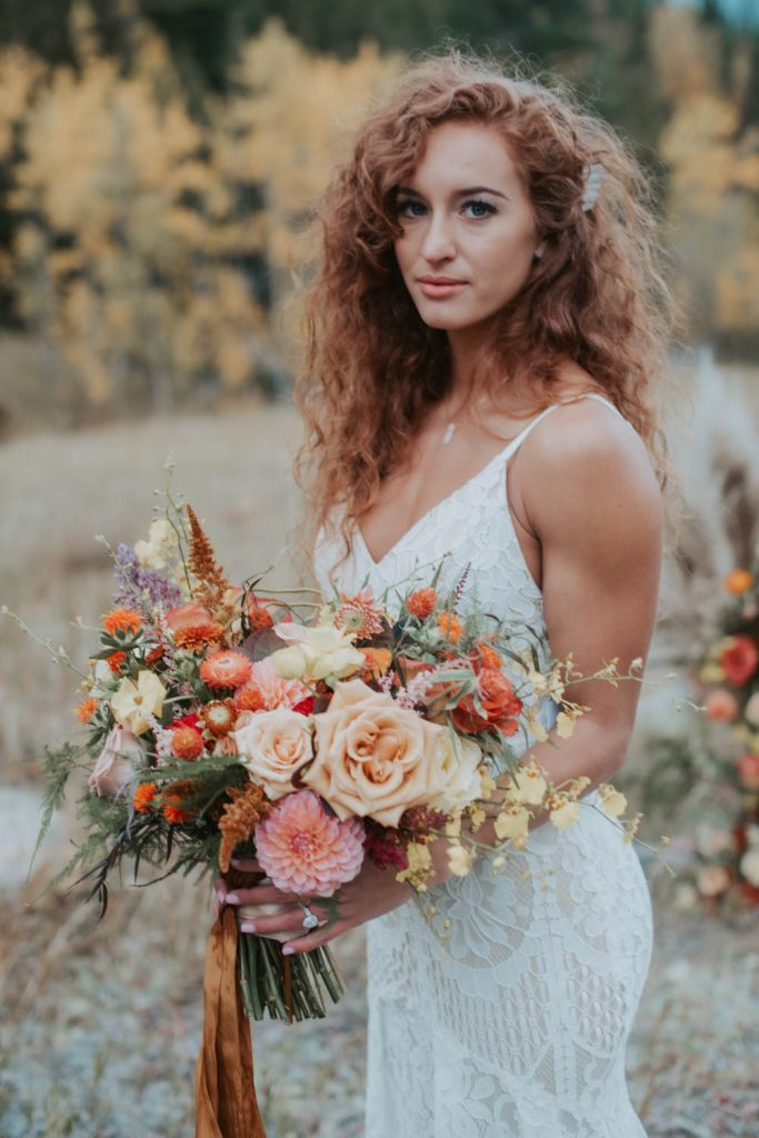 fall styled elopement wedding in rocky mountain national park colorado